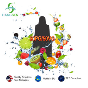 Hangsen 50vg 50pg E-Liquid with Rich Taste pictures & photos