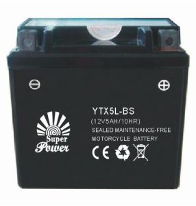 VRLA Motorcycle Battery 12V 5ah with CE UL Certificate Called 12V5A-1 pictures & photos