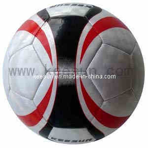 Machine Stitched with 32panels Laser PVC Soccer Ball /Football (SM5010) pictures & photos