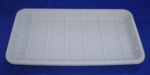 Biodegradable Corn Starch Disposable Tray pictures & photos