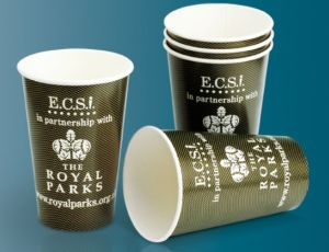 Corrugated Custom Logo Design Hot Coffee Cup 8oz, 12oz, 16oz pictures & photos