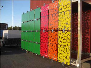 Colored/Tinted Tempered Patterned Decorative Glass pictures & photos