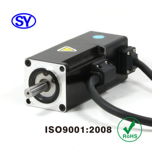 100W AC Servo Electrical Motor for Electric Vehicle (60SV100AA30C) pictures & photos