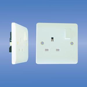 13amp Single Pole Switched Socket (V405, V406, V409, V410) pictures & photos