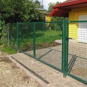 Green Powder Coated Wire Mesh Fence for Yard