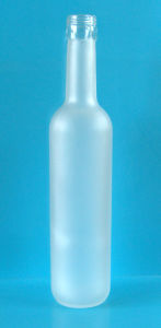 350ml Frosted Glass Wine Bottle (VYJ-020)