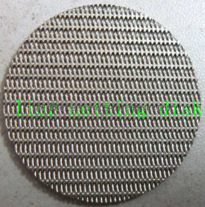 Sintered Filter Disk with Dutch Netting