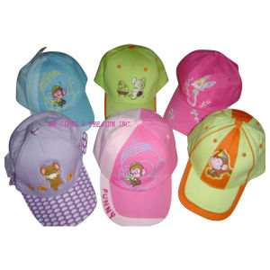 Cotton Twill Children Baseball Cap pictures & photos