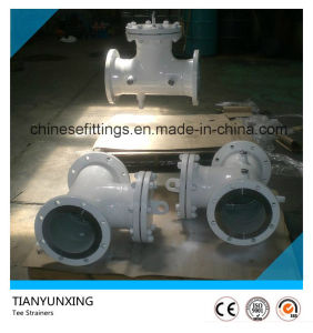 API ANSI Carbon Steel Flanged Valve Strainers pictures & photos