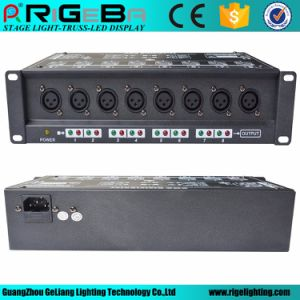 Stage Light High Performance 8 DMX Signal Amplifier for DMX Lighting Systemr pictures & photos