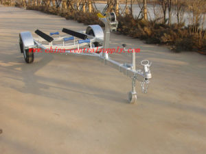 Factory Made Manufacturer Sale 4.1m Boat Trailer with Bunk System CT0410 pictures & photos