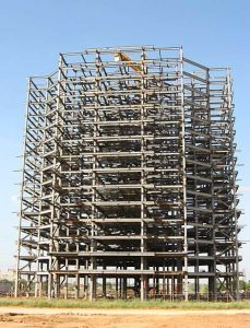 Prefab Steel Structure Office Building (20100307)