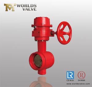 Grooved End Connection Butterfly Valve pictures & photos