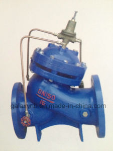 "New Durble Pressure Regulating Ball Valve 3/4"" Male Thread pictures & photos"