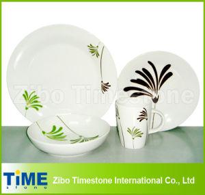Porcelain Palm 16-Piece Dinnerware Set Service for 4 (616049) pictures & photos