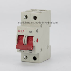 Hvs 100A 2p Main Switch Circuit Breaker with High-Breaking Capacity (Isolator) pictures & photos