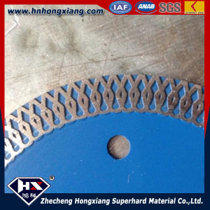 Cyclone Mesh Turbo Diamond Saw Blade for Ceramic Tile/ Circular Saw Blade pictures & photos