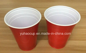 16oz Disposable Tableware Plastic Cup, Red Plastic Cups pictures & photos