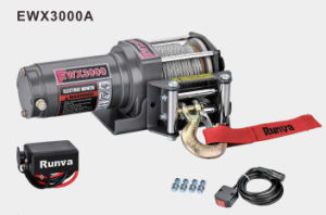 Runva-Ewx3000 Electric Winch 12V/24V 3000lb ATV Winch