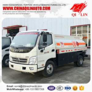 China 4X2 5m3 Fuel Delivery Tank Truck for Kenya pictures & photos