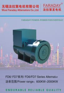 Faraday 2063kVA/1650kw Permanent Magnet Brushless Alternator Generator (2 years warranty) Fd7e pictures & photos