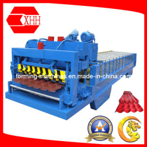 Yx38-210-840 Colored Metal Glazed Tile Roofing Machine pictures & photos