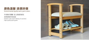 Solid Wooden Foot Stool Modern Stool Living Room Stool (M-X2060) pictures & photos