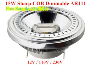 LED Lighting 15W Sharp COB Dimmable AR111 pictures & photos