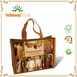 Large Laminated Cheap Shopping Non Woven Tote Bags with Logos pictures & photos