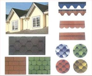 Cheap Asphalt Roof Shingle /Self Adhesive Roof Tile with ISO Certificate pictures & photos