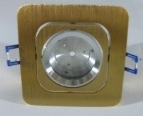 3W LED Ceiling Down Light Square 2 Year Warranty