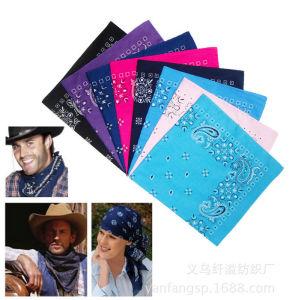 Custom Logo Fashion Cotton Headscarf pictures & photos