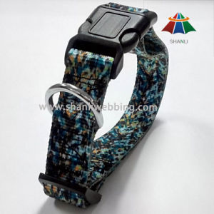 Heat Transfer Printing Polyester Dog Collar, High Tenacity Dog Collar pictures & photos