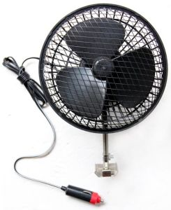 Win-119 Mesh Guard Oscillating Safety Car Fan pictures & photos