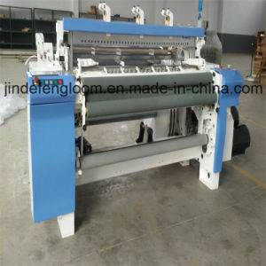 Denim Fabric Air Jet Weaving Loom with Staubli Cam Shedding pictures & photos
