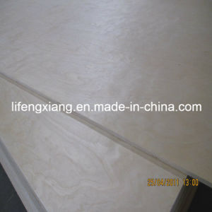 High Grade Birch Plywood for Furniture, Packing and Construction