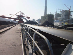 Power Plant Industrial Flat Belt Conveyor pictures & photos