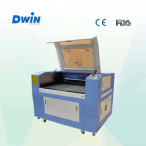 Dw960 Laser Engraving and Cutting Machine for Leather Sewing Machine Used pictures & photos