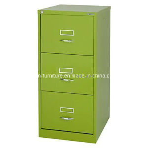 Office Funitures/ Types of Cabinets/3drawer Metal File Cabinet pictures & photos