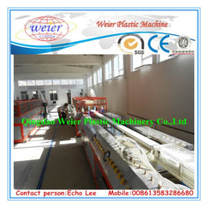 Sjsz-65/132 UPVC Window and Door Profile Extrusion Line pictures & photos