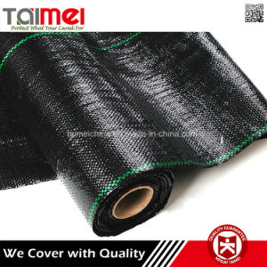 PP Flat Yarn Woven Ground Cover Weed Barrier Fabric pictures & photos
