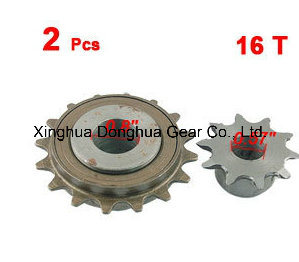 16t 10t Single Speed Chain Drive Sprocket Wheel pictures & photos