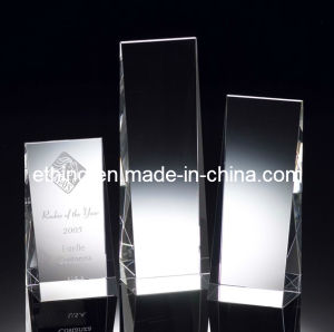 Crystal Winner′s Wedge Award (10451) pictures & photos