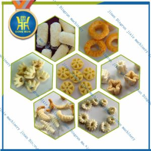 Jinan Dingrun breakfast cereal corn flakes extrusion machine pictures & photos