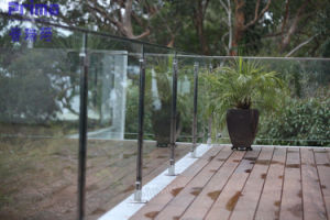 Outdoor Stainless Steel Handrail Glass Balustrade pictures & photos
