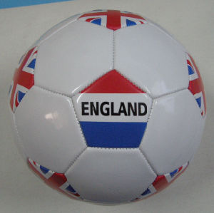 England Country Flag Soccerball pictures & photos