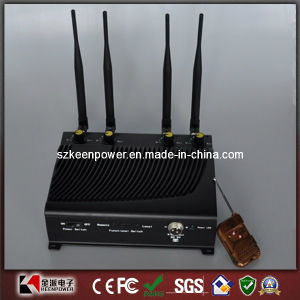 Desktop Adjustable Mobile Phone Jammer with Remote Control pictures & photos