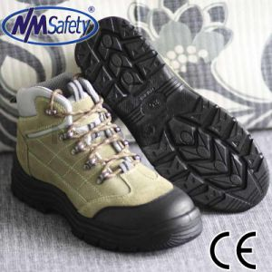 Nmsafety Suede Leather Oil Resistant Work Shoe Safety Footwear pictures & photos