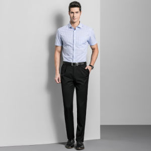 Custom New Fashion Comfortable Black Cheap Cotton Fitness High Quality Mens Dress Pants pictures & photos