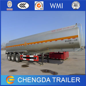 3 Axles Stainless Fuel Oil Tanker Trailer pictures & photos